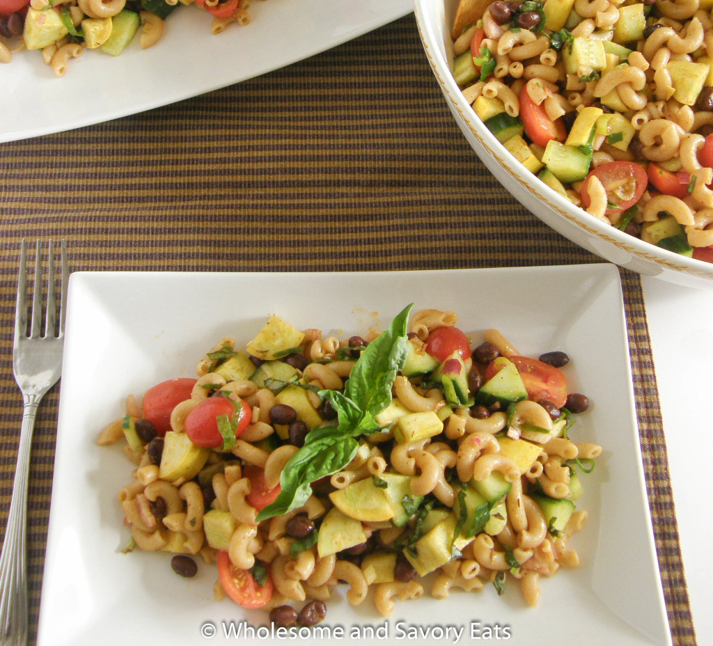 Meatless Monday: Zesty Vegetable Pasta Salad