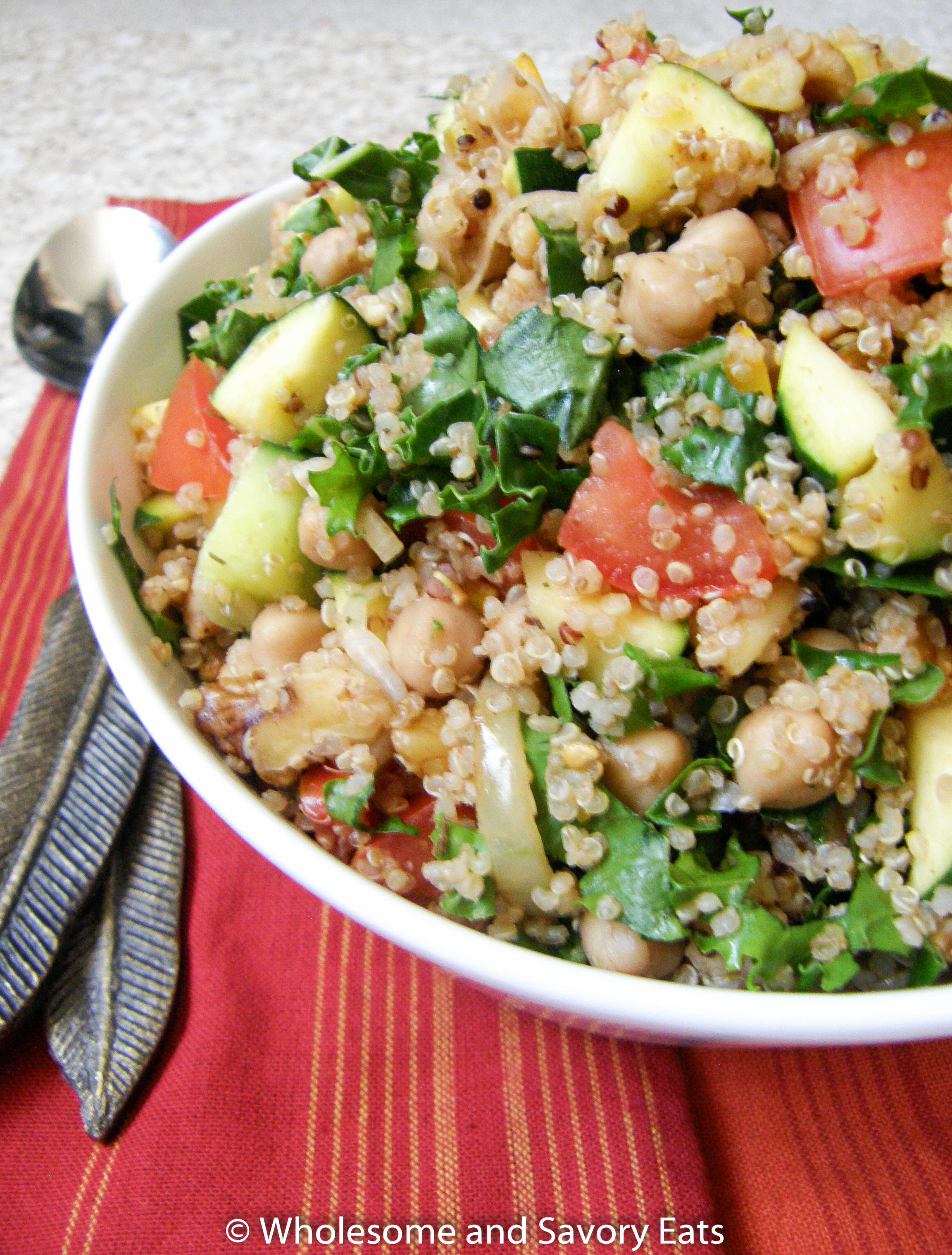 Quinoa Summer Salad (Recipe Redux)